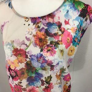 Top Shop semi sheer blouse